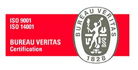 Logo ISO 9001 y 14001